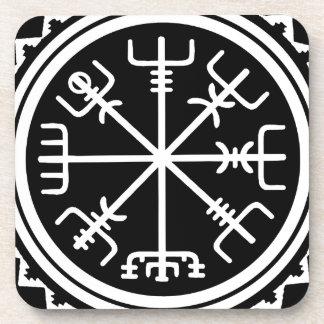 Porta-copo Compasso de Viking Vegvisir