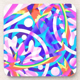 Porta-copo Conjunto de variação da violeta da cor