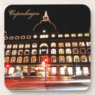 Porta-copo Copenhaga, Dinamarca na noite