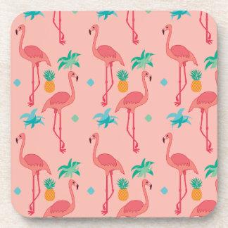 Porta-copo Coral do flamingo