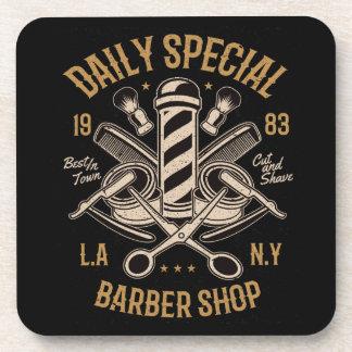 Porta-copo Corte e Shave especiais diários da barbearia