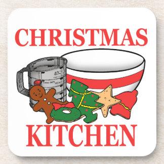 Porta-copo cozinha do Natal