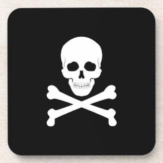 Porta-copo Crânio de bandeira de pirata e Crossbones Roger