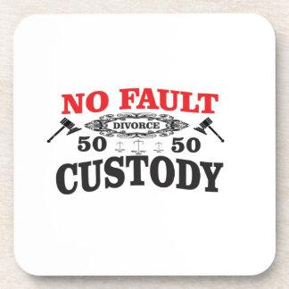 Porta-copo custódia 50 do divórcio 50 do gavel