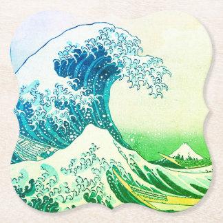 Porta-copo De Papel A grande onda