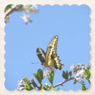 Porta-copo De Papel Borboleta gigante de Swallowtail