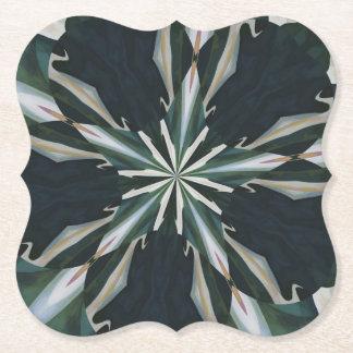 Porta-copo De Papel Caleidoscópio da estrela do lírio de Calla