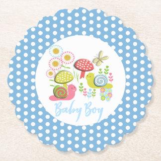 Porta-copo De Papel Chá irrisório do bebé do jardim do primavera do