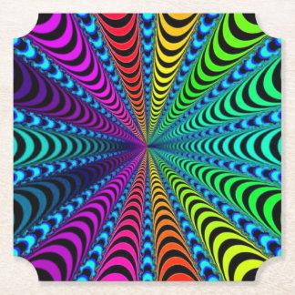 Porta-copo De Papel Espiral do ESPECTRO, ilusão visual,