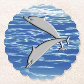 Porta-copo De Papel Jogo do golfinho
