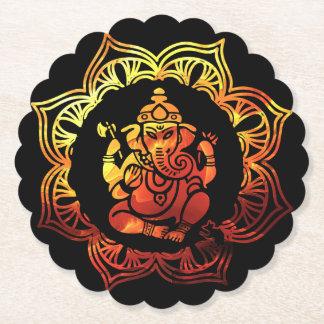 Porta-copo De Papel Meditação 16 colorido