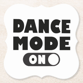 Porta-copo De Papel Modo da dança sobre, dançarino, festa de casamento