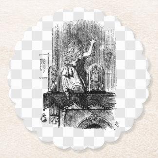 Porta-copo De Papel No espelho