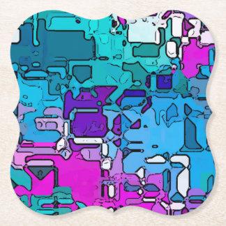 Porta-copo De Papel o abstrato segmentou 1