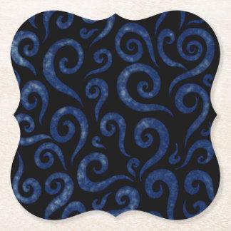 Porta-copo De Papel O azul roda teste padrão