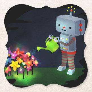 Porta-copo De Papel O jardim do robô