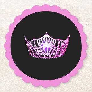 Porta-copo De Papel Portas copos de papel de Sclpd da coroa