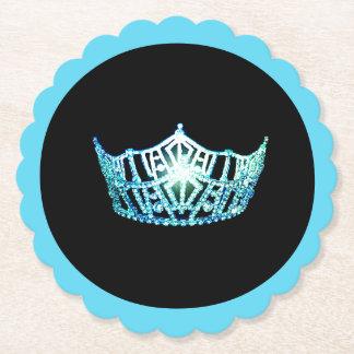 Porta-copo De Papel Portas copos de papel de Sclpd da coroa de