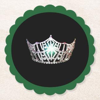 Porta-copo De Papel Portas copos de papel de Sclpd da coroa de prata