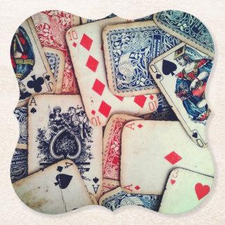 """Porta-copo De Papel Portas copos de papel do """"póquer"""""""