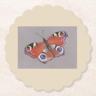 Porta-copo De Papel Portas copos do cartão com design 4 da borboleta