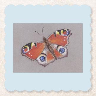 Porta-copo De Papel Portas copos do cartão com design 5 da borboleta