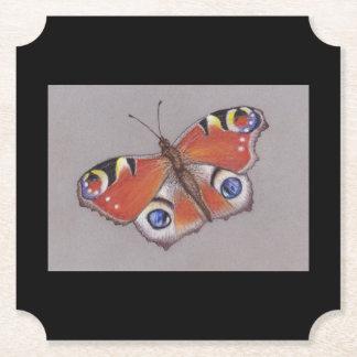 Porta-copo De Papel Portas copos do cartão com design 6 da borboleta
