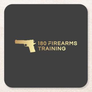 Porta-copo De Papel Quadrado 180 portas copos do treinamento de armas de fogo