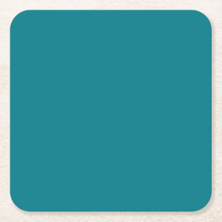 Porta-copo De Papel Quadrado A cor AZUL da mudança do modelo DIY ADICIONA A