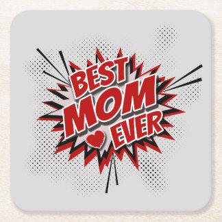 Porta-copo De Papel Quadrado A melhor mamã nunca