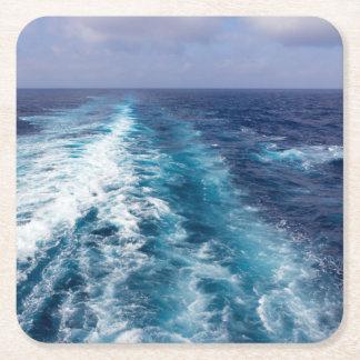 Porta-copo De Papel Quadrado acordar de um navio de cruzeiros