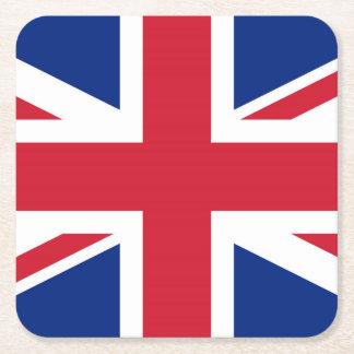 Porta-copo De Papel Quadrado Bandeira de Reino Unido Reino Unido