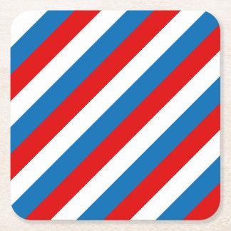 Porta-copo De Papel Quadrado Bandeira de Rússia