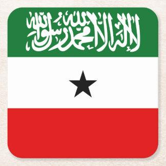 Porta-copo De Papel Quadrado Bandeira de Somaliland