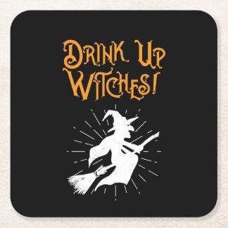 Porta-copo De Papel Quadrado Bebida acima das bruxas!