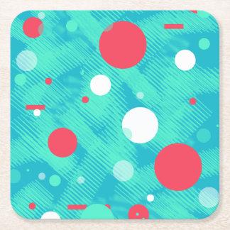Porta-copo De Papel Quadrado Bolhas felizes/porta copos de papel das bolas