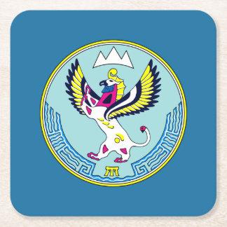 Porta-copo De Papel Quadrado Brasão de Altai
