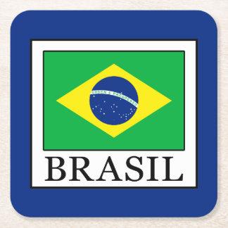 Porta-copo De Papel Quadrado Brasil