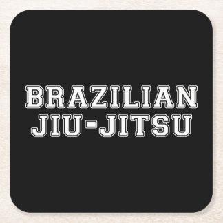 Porta-copo De Papel Quadrado Brasileiro Jiu Jitsu