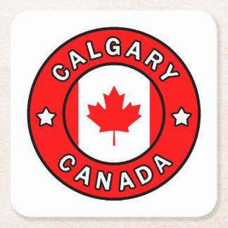 Porta-copo De Papel Quadrado Calgary Canadá