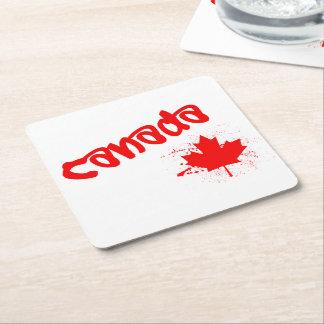 Porta-copo De Papel Quadrado Canadá