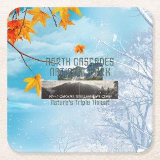 Porta-copo De Papel Quadrado Cascatas nortes de ABH
