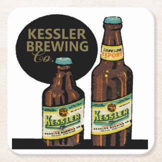 Porta-copo De Papel Quadrado Cerveja da exportação de Kessler