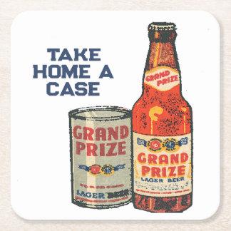 Porta-copo De Papel Quadrado Cerveja de cerveja pilsen premiada grande neta um