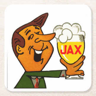 Porta-copo De Papel Quadrado Cerveja de Jax