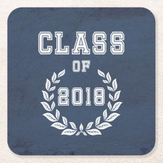 Porta-copo De Papel Quadrado Classe de 2018