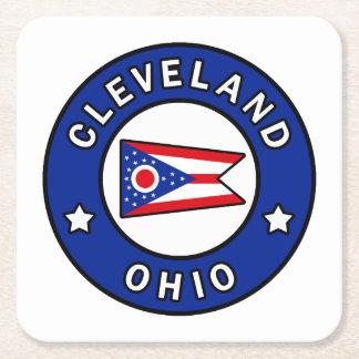 Porta-copo De Papel Quadrado Cleveland Ohio