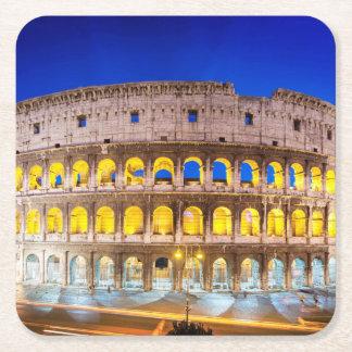 Porta-copo De Papel Quadrado Colosseum Romanum por Orarium