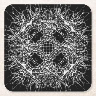 Porta-copo De Papel Quadrado dark 666
