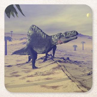 Porta-copo De Papel Quadrado Dinossauro de Arizonasaurus - 3D rendem